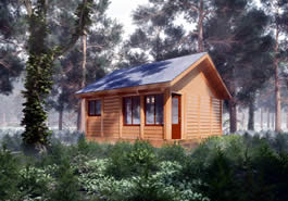 Camp Luxury Cabin Model